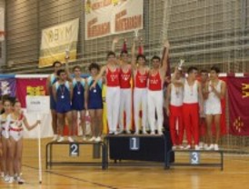 Los gimnastas de Getafe copan los podios del Campeonato de España