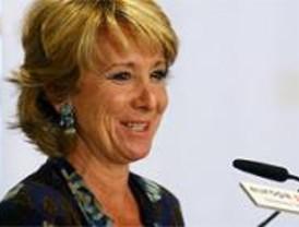Aguirre dice tajante que no le gustaría presidir el Gobierno de España