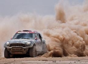 Accidente de Nani Roma que se despide del Dakar