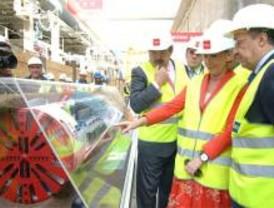 La tuneladora 'Excavolina' comienza a perforar el Metro a Leganés
