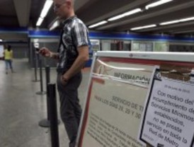 El juez declara ilegal la huelga que obligó a cerrar el metro durante dos días