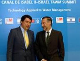 El Canal de Isabel II revela su interés en aplicar las técnicas israelíes en el aprovechamiento del agua