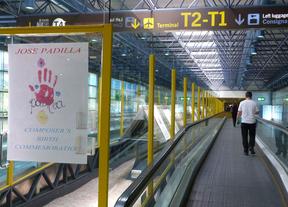 Exposición del Maestro Padilla en el aeropuerto