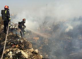Riesgo alto de incendios en el centro y sur de la región