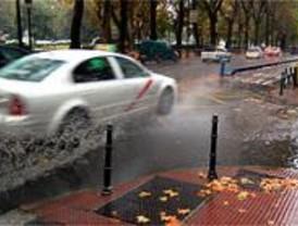 Los bomberos efectuaron 65 intervenciones por la lluvia del martes