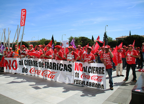 El Gobierno asegura que no puede intervenir en el ERE de Coca-Cola