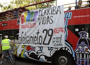 Concentración en Cibeles contra el derribo de Ofelia Nieto