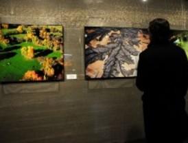Una exposición muestra los paisajes de la Comunidad retratados desde el aire