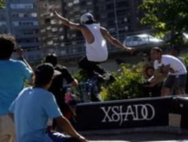 Los 'riders' deslumbran en Madrid Río
