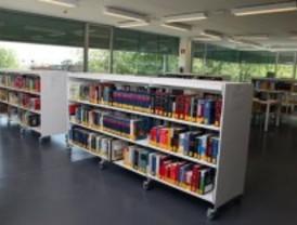 La nueva biblioteca de Carabanchel ya es la segunda de la Comunidad