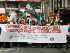 Un año de lucha por la libertad siria