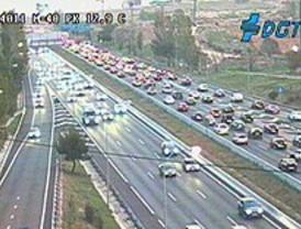 Miércoles complicado para el tráfico en Madrid
