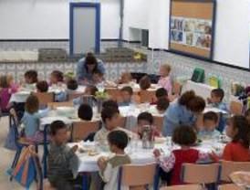 El PSOE pide más control en comedores escolares