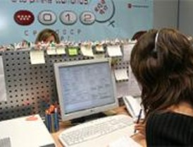 El 012 de la Comunidad atendió en 2006 más de un millón de llamadas