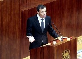 Intervención de Tomás Gómez en la Asamblea de Madrid