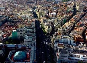 Madrid a vista de Dron