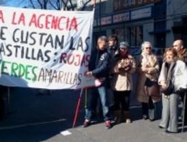 Protesta contra los recortes de la Agencia Antidroga