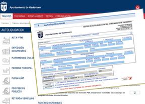 Valdemoro implanta un sistema de autoliquidación de impuestos y tasas para agilizar los trámites