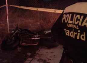 Muere un motorista tras una colisión en San Blas
