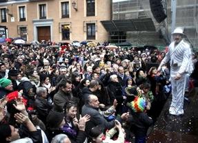 Álex O'Doguerty inaugura el Carnaval