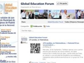 Debate en las redes sociales sobre la educación