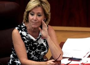 Aguirre descarta volver a presentarse a la Presidencia del PP de Madrid