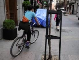 Elaboran un plano de 'calles tranquilas' para hacer casi cualquier recorrido en bici por Madrid