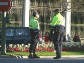 Agentes de Movilidad trabajan con mascarilla para que se evalúen sus riesgos