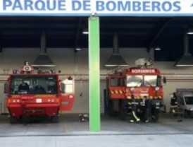 Incendio en una tienda de Alcalá de Henares