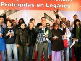 Entregados 36 pisos protegidos en Leganés
