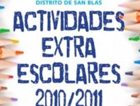 Actividades extraescolares variadas en San Blas