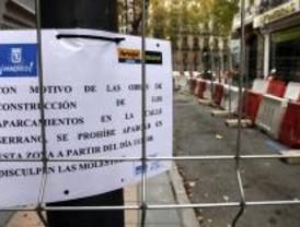 Los comerciantes apoyan las obras de reforma de la calle de Serrano