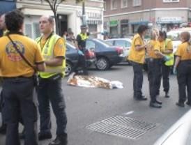 Un peatón muere arrollado por un coche cuando cruzaba una calle en Chamartín