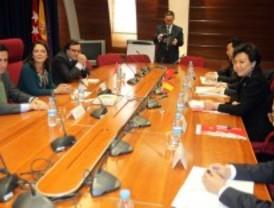 Una delegación china de Xicheng visita Pozuelo de Alarcón