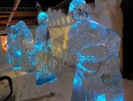 Se prorroga la exposición de esculturas de hielo 'On Ice Madrid'
