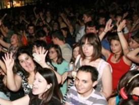 Fiesta de la juventud en Valdemoro