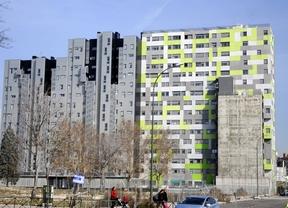Las hipotecas sobre viviendas descienden un 40,7% en Madrid