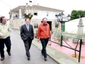 La Comunidad renueva el asfalto de varias calles del casco histórico de Santorcaz