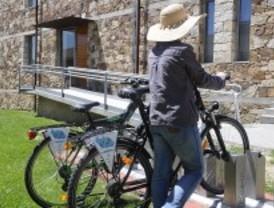 La bici pública se atasca en la Sierra