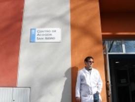 Botella visita a los 'sin techo' de San Isidro