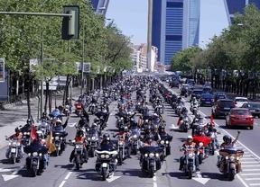 Más de 1.500 Harleys desfilarán por el centro de Madrid
