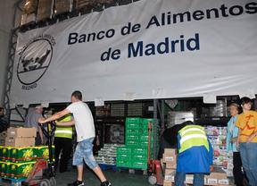 Madrid recoge 34.560 kilos de comida para el Banco de Alimentos