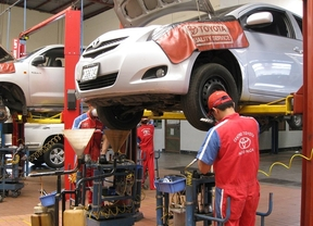 Toyota España llama a revisión a varios modelos