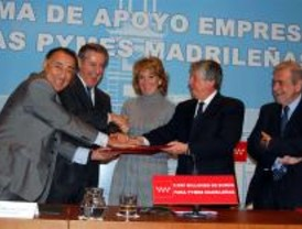 Acuerdo entre Caja Madrid, Cámara de Comercio y CEIM para financiar las pymes