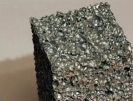 Fabrican espumas de aluminio de bajo precio para las empresas