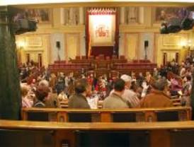 Miles de ciudadanos de toda España visitan las estancias del Congreso