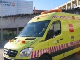 Tres Cantos estrena una renovada ambulancia de traslado urgente del SUMMA 112