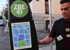 Parquimetro zona verde