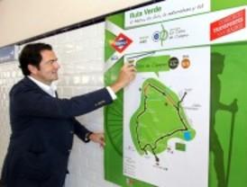 La Casa de Campo estrena una Ruta Verde de 15,5 kilómetros para paseantes y ciclistas