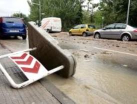 San Fernando pide la declaración de zona catastrófica por las lluvias